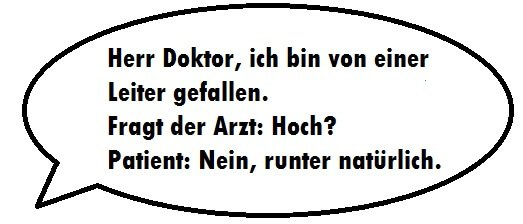 Herr doktor witze