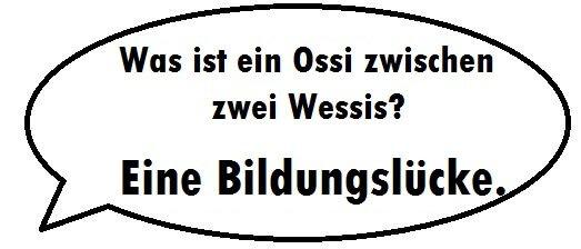 Ddr Witze Top 10 Die Besten Witze Uber Ossis Und Wessis